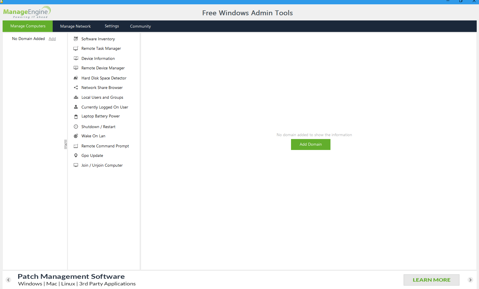 Free-Windows-Admin-Tool